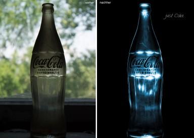 just coke