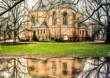 Lutherkirche Spiegelung